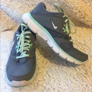 Gray & Teal Nikes